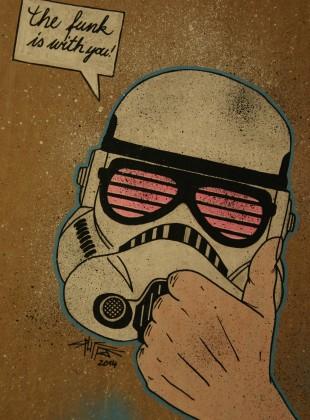 funky stormtrooper