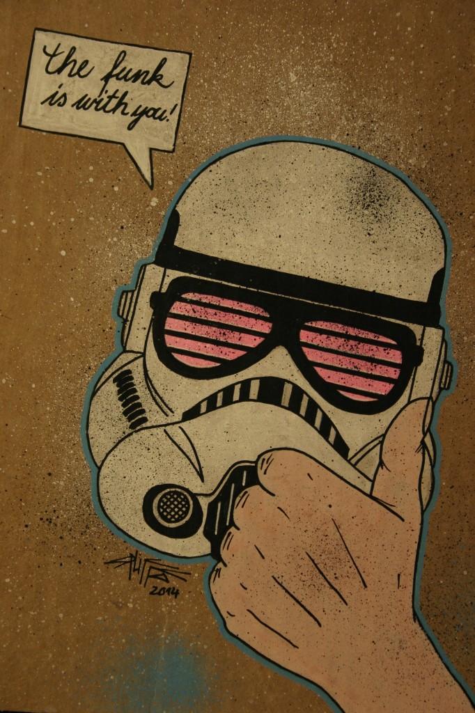funky stormtrooper (2014)