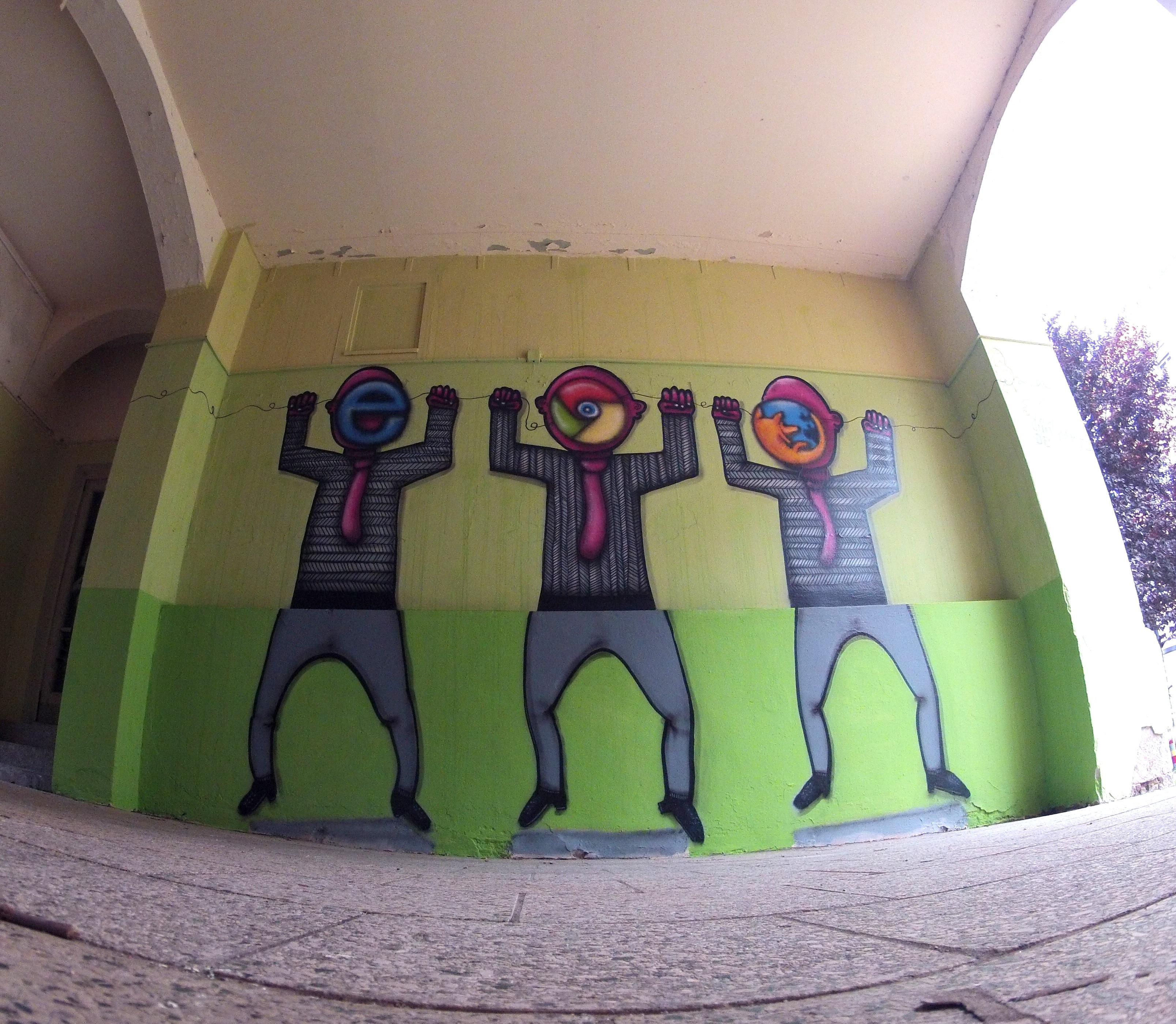 Unityarts Kultursommer Chemnitz Wand